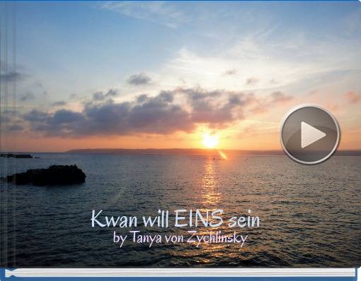 Book titled 'Kwan will EINS sein'