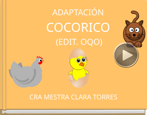 Book titled 'ADAPTACIÓNCOCORICO (EDIT. OQO)'