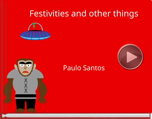 Book titled 'Festivities and other things'