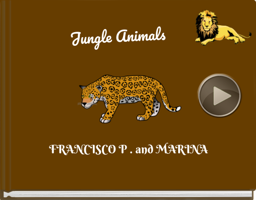 Book titled 'Jungle Animals'