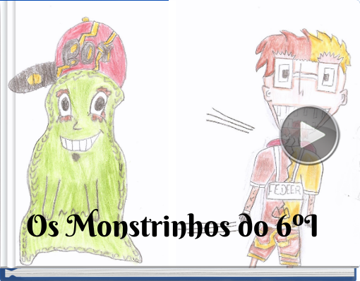 Book titled 'Os Monstrinhos do 6ºI'