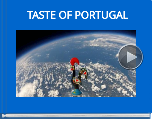 Book titled 'TASTE OF PORTUGAL'