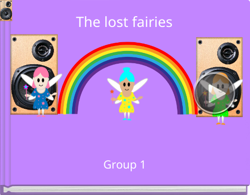 Book titled 'The lost fairies'