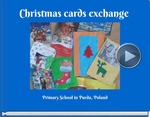Book titled 'Christmas cards exchange '