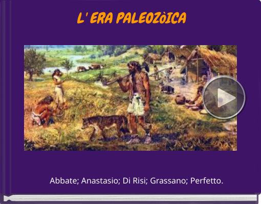 Book titled 'L' ERA PALEOZòICA'