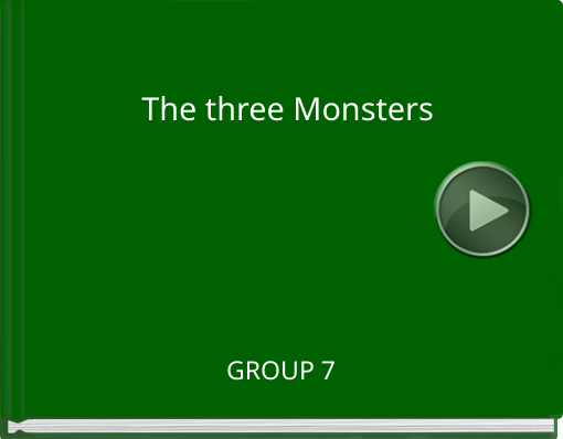 Book titled 'The three Monsters'