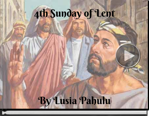 Book titled '4th Sunday of Lent'