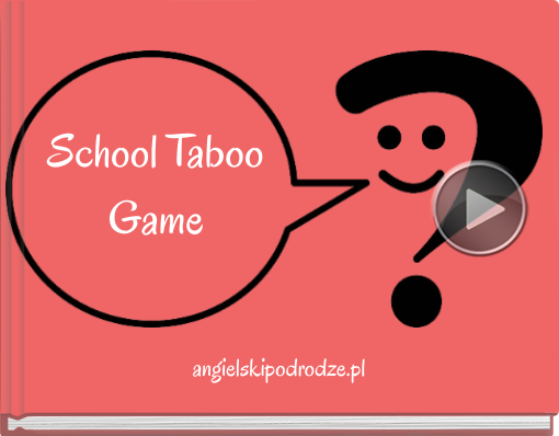 Book titled 'School TabooGame'
