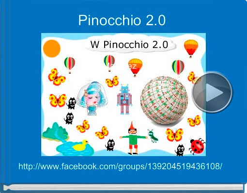 Book titled 'Pinocchio 2.0'