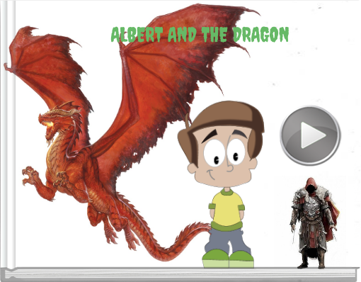 Book titled 'ALBERT AND THE DRAGON'