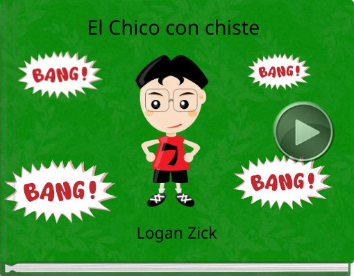Book titled 'El Chico con chiste'