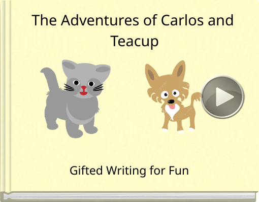 Book titled 'The Adventures of Carlos and Teacup'