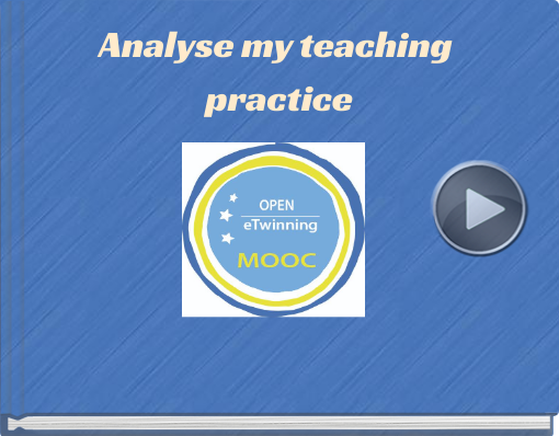 Book titled 'Analyse my teaching practice'