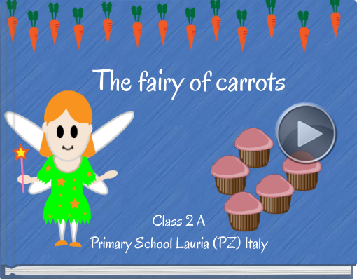 Book titled 'The fairy of carrots'