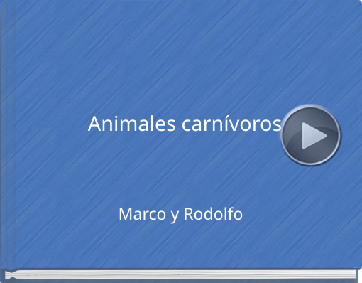 Book titled 'Animales carnívoros'