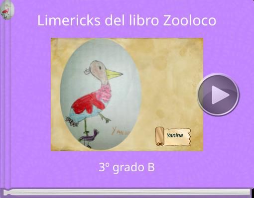 Book titled 'Limericks del libro Zooloco'