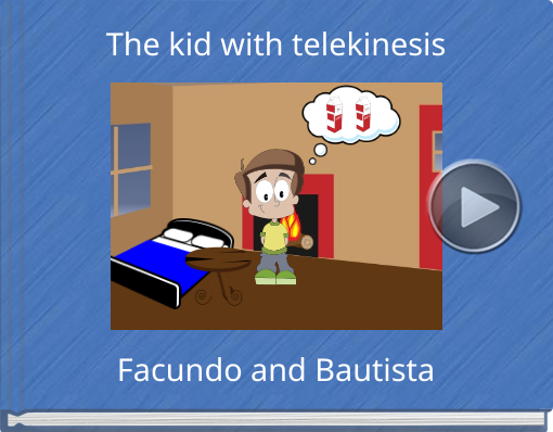 Book titled 'The kid with telekinesis'