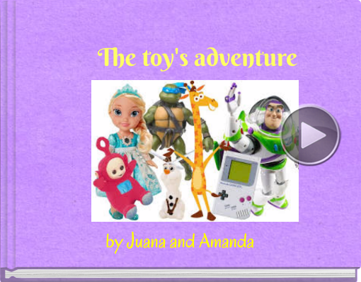 Book titled 'The toy's adventure'