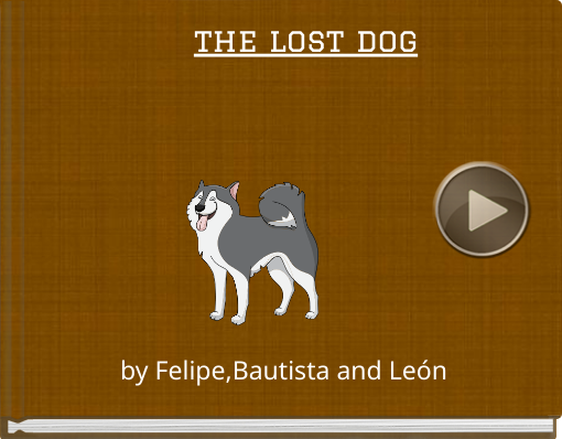 Book titled 'the lost dog'