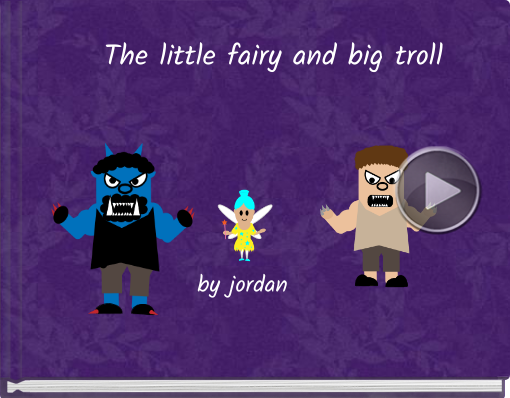 Book titled 'The little fairy and big troll'