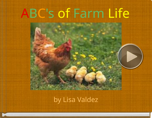 Book titled 'ABC's of Farm Life'