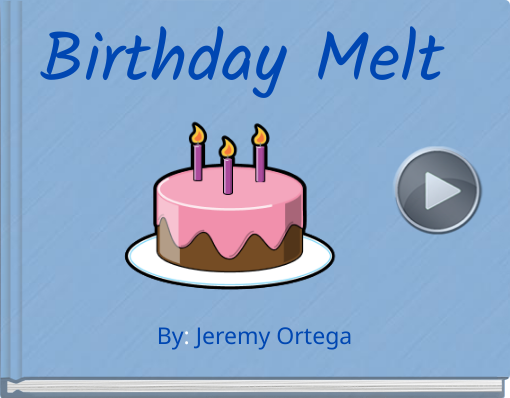 Book titled 'Birthday Melt'