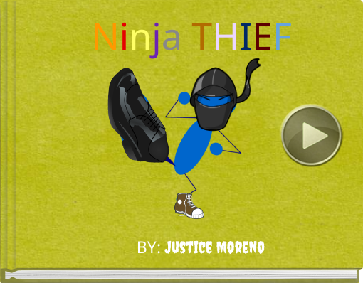 Book titled 'Ninja THIEF'