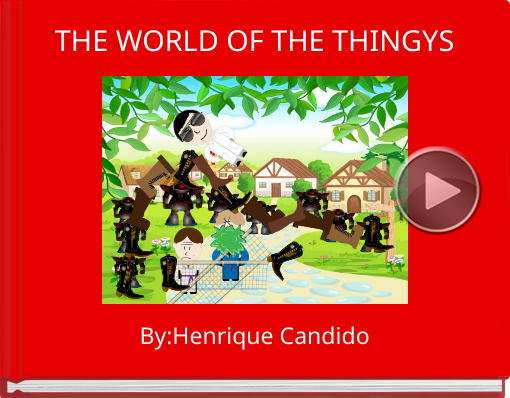 Book titled 'THE WORLD OF THE THINGYS'