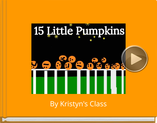 Book titled '15 Little Pumpkins'