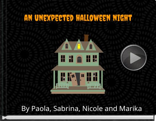 Book titled 'an unexpected halloween night'