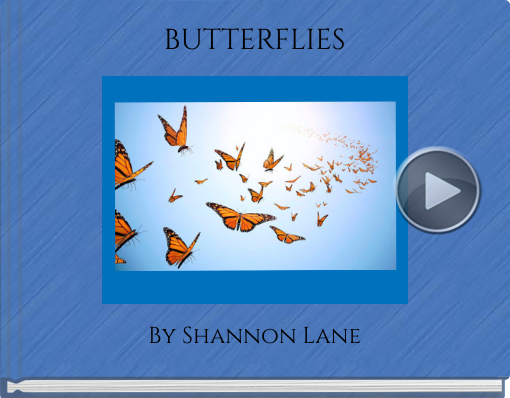 Book titled 'BUTTERFLIES'