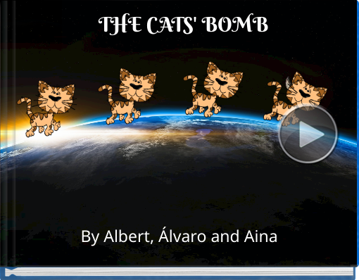 Book titled 'THE CATS' BOMB'