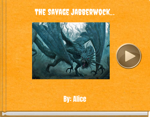 Book titled 'The Savage Jabberwock...'