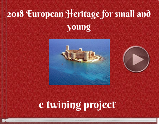 Book titled '2018 European Heritage for small and young'