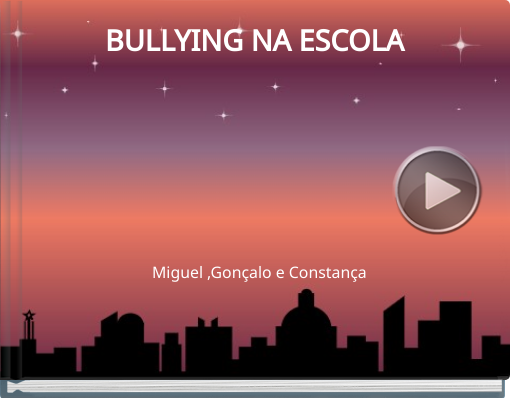 Book titled 'BULLYING NA ESCOLA'