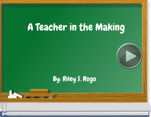 Book titled 'A Teacher in the Making'