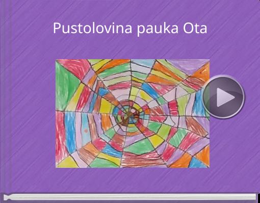 Book titled 'Pustolovina pauka Ota'