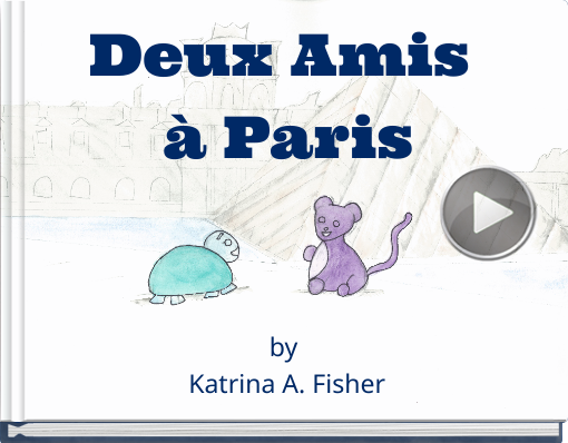 Book titled 'Deux Amis à Paris'