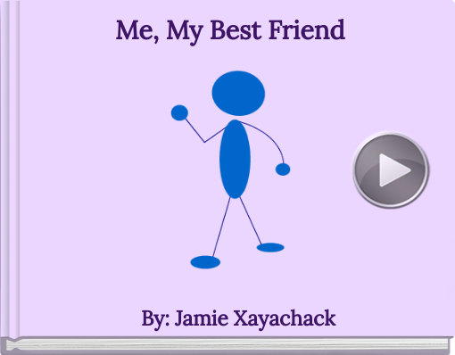 Book titled 'Me, My Best Friend'
