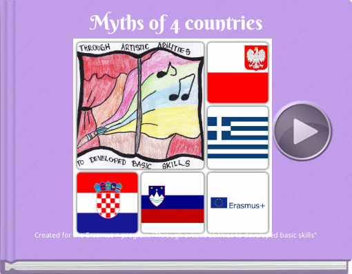 Book titled 'Myths of 4 countries'
