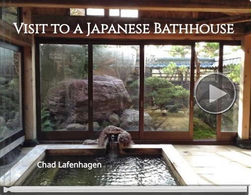 Book titled 'Visit to a Japanese Bathhouse'