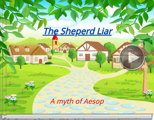 Book titled 'The Sheperd Liar'