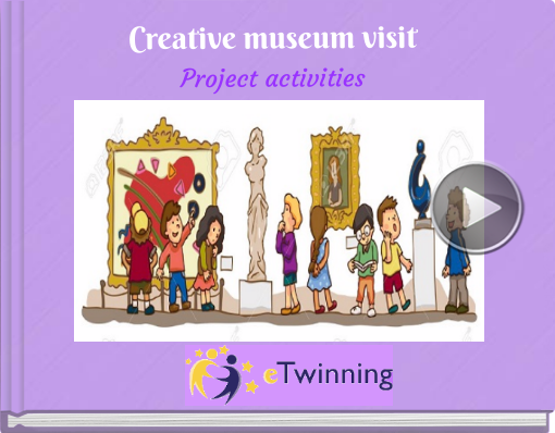Book titled 'Creative museum visitProject activities'