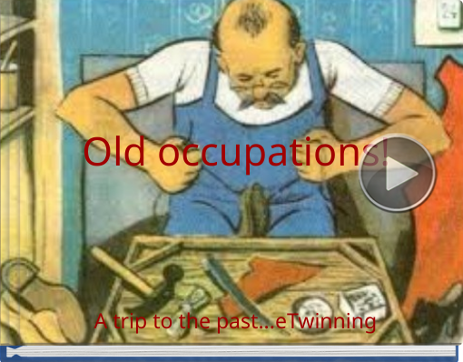 Book titled 'Old occupations!'