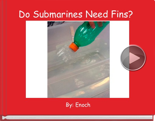 Book titled 'Do Submarines Need Fins?'