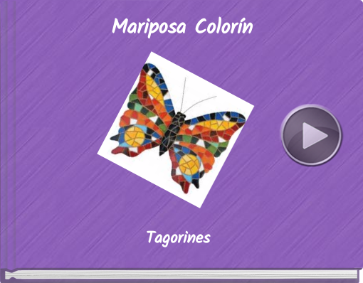 Book titled 'Mariposa Colorín'
