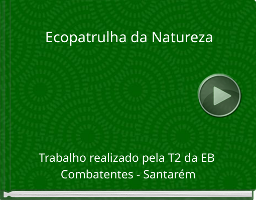 Book titled 'Ecopatrulha da Natureza'
