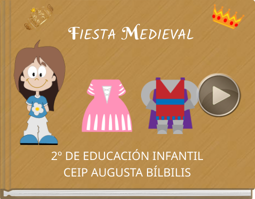 Book titled 'FIESTA  MEDIEVAL'