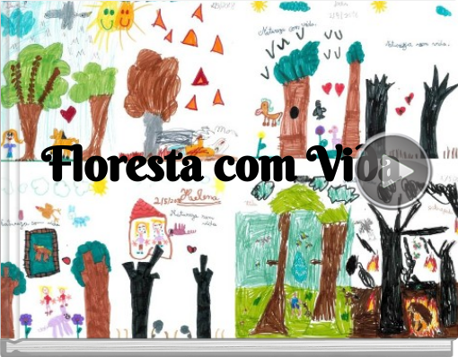 Book titled 'Floresta com Vida'