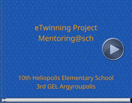 Book titled 'eTwinning ProjectMentoring@sch'